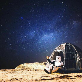 スターウォーズ 巨大宇宙要塞デススターのドームテント