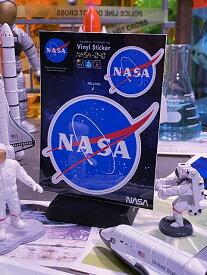 NASAオフィシャルステッカー(ミートボールロゴ)