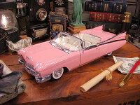 マイスト1959年ピンクキャデラックのダイキャストモデルカー1/18スケール