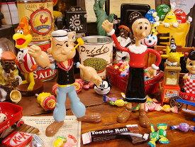 ポパイ&オリーブのベンダブル人形 ■ こだわり派が夢中になる!人気のアメリカ雑貨屋 通販 アメリカ雑貨 アメリカン雑貨 インテリア雑貨 カッコイイ男の部屋!おしゃれ 人気 生活雑貨