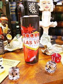 ラスベガスのネオンサインシューターグラス ■ アメリカ雑貨 アメリカン雑貨