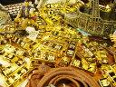 ついに見つけたお宝の山! ミニチュア金塊 ■ アメリカ雑貨 アメリカン雑貨
