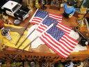 星条旗のミニフラッグ(3本セット) ■ アメリカ雑貨 アメリカン雑貨 アメリカ 雑貨 看板 通販 インテリア デスク 小物 …