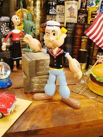 ポパイのベンダブルドール ■ アメリカ雑貨 アメリカン雑貨 アメキャラ アメコミ 人形