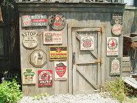 昔のアドバタイジングのウッドサイン(13枚オールセット)★アメリカ雑貨★アメリカン雑貨