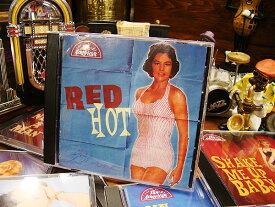 「んーこのCDマジで最高!」たったの10秒でハートを打ち抜かれました! 音楽CD 50年代ロカビリーシリーズ(RED HOT) ■ アメリカン雑貨 アメリカ雑貨 アメリカ 雑貨 歌 CD コンピレーションアルバム オムニバス
