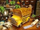 どこに置いても絵になる人気インテリア! スクールバスのCD&リモコンラック 【楽天1位】 ■ アメリカ雑貨 アメリカン…