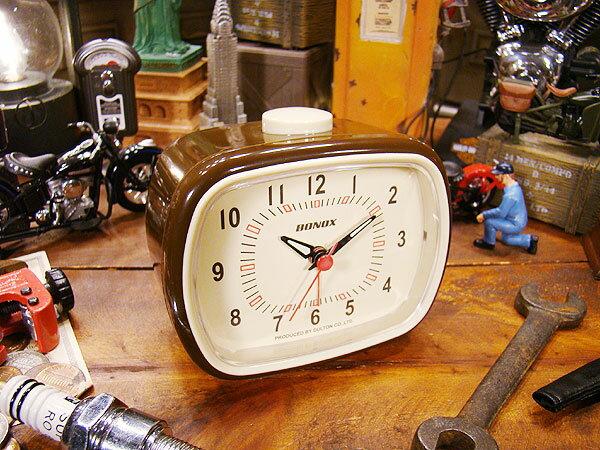 ダルトン クラシックベル(ブラウン) ■ アメリカ雑貨 アメリカン雑貨 目覚まし時計 おしゃれ おもしろ アラームクロック めざまし時計 かっこいい プレゼント 置き時計 アメリカ 雑貨 インテリア