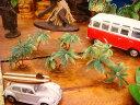 南の島のヤシの木のオブジェ(6個入り/ミニミニ6個) ■ アメリカ雑貨 アメリカン雑貨 アメリカ 雑貨ハワイ雑貨 ハワイアン 雑貨 インテリア 人気 小物 カー...