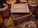輸出用木箱 Bタイプ 茶 LLサイズ ■ 「楽天1位」 ■ アンティーク風木箱 木箱 小物入れ ガーデニング ケース 小物 ボックス 通販 ワイン 収納 アンティーク アメリカ雑貨 アメリカン雑貨 ふ
