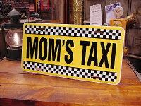 ママのタクシーのライセンスプレート