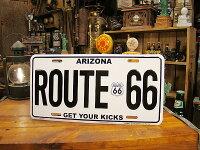 ルート66のナンバープレート(GETYOURKICKS/アリゾナ)