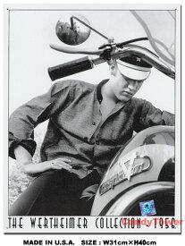 アメリカ ブリキ看板 エルビス・プレスリー -ハーレーダビッドソン- ■ サインプレート ブリキ アメリカ看板 ティンサイン アメリカンブリキ看板 アメリカ雑貨 アメリカン雑貨 壁飾り インテリア雑貨 おしゃれ 人気 壁面装飾 男前 インテリア 雑貨 男前インテリア雑貨