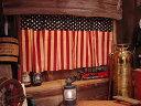 星条旗のカフェカーテン(クラシック) ■ アメリカ雑貨 アメリカン雑貨