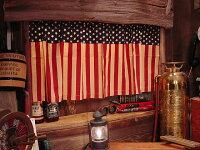 星条旗のカフェカーテン(クラシック)