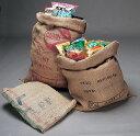 コーヒー麻袋 リサイクル品 単品 一枚 インテリアのアクセントとして大活躍!ガーデニングやショップのディスプレイに…