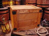 輸出用木箱Aタイプうす茶LLサイズ