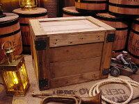 輸出用木箱Aタイプ茶Lサイズ