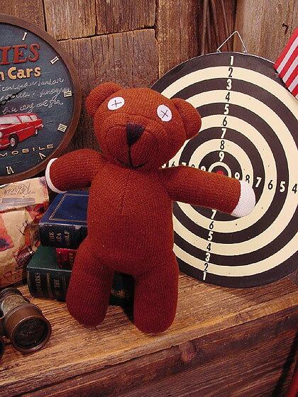 ミスタービーンのクマのテディ人形 ■ アメリカ雑貨 アメリカン雑貨 アメリカ 雑貨 インテリア