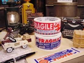 ダルトン フラジールのパッキングテープ 2個セット ■ アメリカ雑貨 アメリカン雑貨 ■ アメ雑貨 dulton パッキングテープ おしゃれ FRAGILE 人気 ブランド かわいい 通販 梱包 テープ