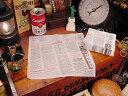 ニュースペーパーナプキン 50枚入り(ホワイト) ■ 紙ナプキン アメリカ雑貨 アメリカン雑貨 アメ雑貨 インテリア 雑…