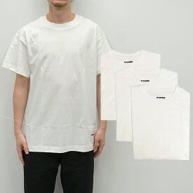 JIL SANDER Plus ジルサンダープラス Tシャツ ジルサンダー パックTシャツ JIL SANDER + PACK TEE (100 / WHITE)【JPUS706530MS248808】