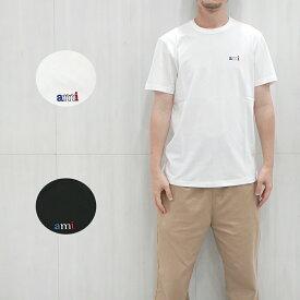 AMI ALEXANDRE MATTIUSSI Tシャツ アミ アレクサンドルマテュッシ メンズ 半袖 EMBROIDERY T-SHIRT (全2色) 【E19J100.720】【P20HJ100.720】