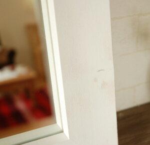ミラー壁掛け鏡アンティーク四角正方形スクェアー40cmx40cm【レビューで200円OFF!】ブラウンウォールミラーモダンシンプル風水木製アンティーク調アンティーク風レトロナチュラルカントリードレッサー