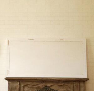 ブラックボード黒板壁掛け50cmx100cm木製フレーム木製フレームホワイト白メニューボードカフェボードウェルカムボード看板カフェ大型北欧カフェ風おしゃれカントリーアンティークアンティーク風アンティーク調ショップ店舗店頭木木枠