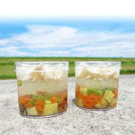 ☆季節限定☆高原野菜のささみジュレ ピッコロ 2個【お中元】・【お祝い】・【ゼリー】・【犬】【ささみ】