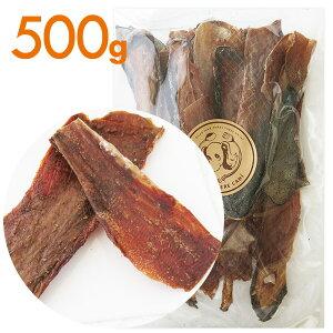 【無添加】牛タン皮 超お得サイズ500g 犬 おやつ/犬用おやつ/おやつ 犬用/おやつ 犬