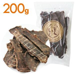 【国産・無添加】エゾ鹿肉ジャーキー 200g 犬 おやつ/犬用おやつ/おやつ 犬用/おやつ 犬/エゾ鹿肉