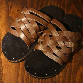 """DRESS HIPPY""""LEATHER SANDAL""""model:CBROWNDRESS HIPPYドレスヒッピー正規取扱店(Official Dealer)Cannon Ballキャノンボールあす楽対応送料・代引き手数料無料NO name!DRESS HIPPY/ATDIRTY"""