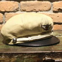 """AT-DIRTY""""M.C CAP""""BEIGE【AT-DIRTY】(アットダーティー)正規取扱店(Official Dealer)Cannon Ball(キャノンボール)【あ…"""