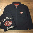 """AT-DIRTY""""ATD UNION JACKET""""NAVY【AT-DIRTY】(アットダーティー)正規取扱店(Official Dealer)Cannon Ball(キャノン…"""
