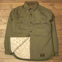 """AT-DIRTY""""QUILTING SHIRTS""""OLIVEHERRINGBONE【AT-DIRTY】(アットダーティー)正規取扱店(Official Dealer)Cannon Ball(…"""