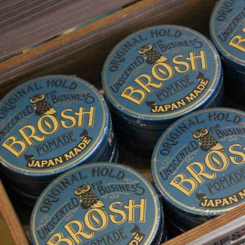 BROSH POMADE UNSCENTED115g【BROSH】(ブロッシュ) 正規取扱店(Official Dealer)【あす楽対応/ポマード/整髪剤】