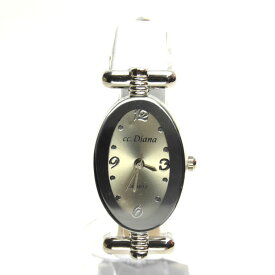 1bb495dd48 レディス腕時計 革細ベルト オーバルタイプ レディス ホワイトベルト ロジウム シンプルデザイン 3か月