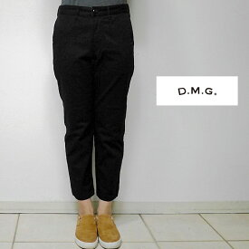 Domingo ドミンゴ DMG 14-044T テーパードトラウザー 19-9 BLACK(ブラック) 4サイズ (SS S M L) 【送料無料】