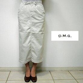 【10/24 23:59までポイント10倍】【送料無料】DOMINGOドミンゴ DMGディエムジー 17-403T タイトスカート 32-1 アイボリー(ivory) 2サイズ(S M)