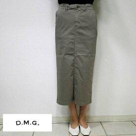 【11/21 23:59までポイント7倍】【送料無料】DOMINGOドミンゴ DMGディエムジー 17-403T タイトスカート 16-2 グレー(grey) 2サイズ(S M) 17-0403T