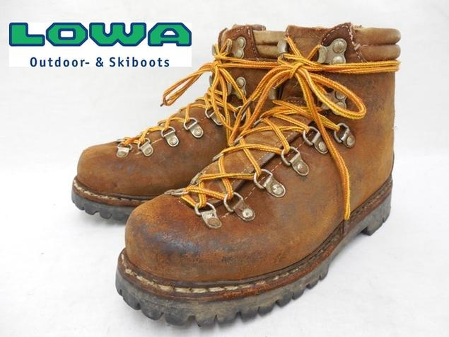 【LOWA:ローバー】マウンテンブーツ/登山靴【サイズ レディース:UK 4X/22~22.5cm】【カラー:ブラウン系】【アメリカ古着 USA買い付け】f-2081【中古】【USED】【古着】【あす楽対応】