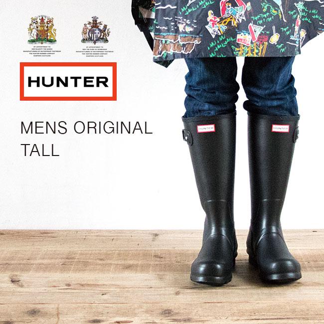 【40%OFF】ハンター メンズ オリジナル トール 【送料無料】 長靴 レインブーツ ラバーブーツ アウトドア フェス ガーデニング 男性 HUNTER MENS ORIGINAL TALL
