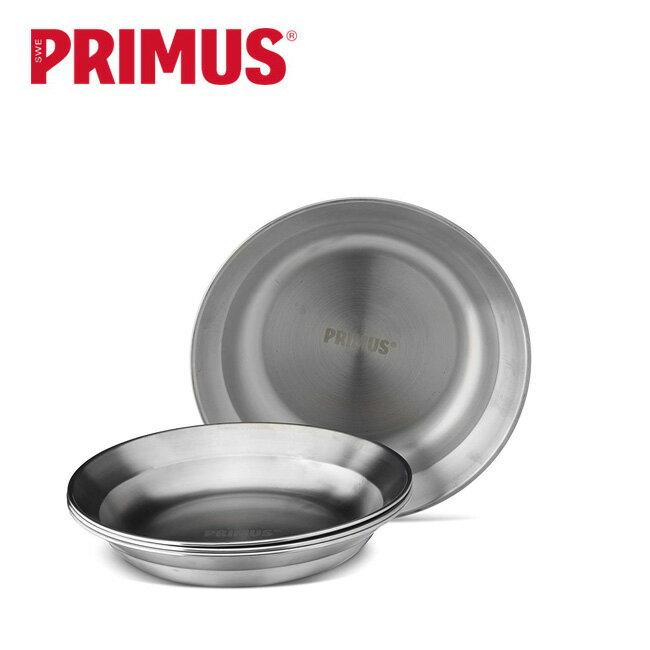 プリムス キャンプファイア ステンレスプレート PRIMUS お皿 ステンレス製 調理 P-C738011 <2019 春夏>