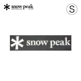 スノーピーク ロゴステッカー アスタリスク S snow peak NV-006 シール ワンポイント アクセサリー キャンプ アウトドア【正規品】