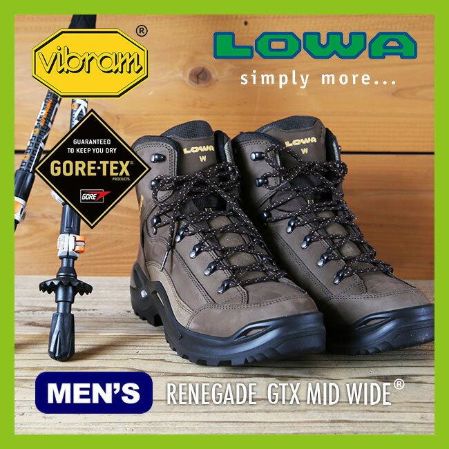 ローバー レネゲード ゴアテックス ミッド ワイド 【送料無料】 【正規品】LOWA 靴 登山靴 トレッキング 男性 メンズ