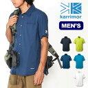 <残りわずか!>【60%OFF】 カリマー ベクターシャツ ヴェクターシャツ S/S 【送料無料】 【正規品】karrimor シャ…