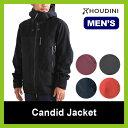 【35%OFF】HOUDINI フーディニ キャンディッドジャケット メンズ 男性用 シェル 防寒 防水 アウター 雪山 バックカン…