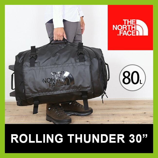 <残りわずか!>【10%OFF】<2017FW> ノースフェイス THE NORTH FACE ローリングサンダー30インチ 【送料無料】 【正規品】80L バッグ 旅行かばん 大型 キャリーバッグ キャリーケース スーツケース トラベル アウトドア ROLLING THUNDER 30