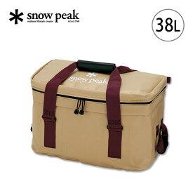 スノーピーク ソフトクーラー38 snow peak Soft Cooler 38 クーラーボックス ソフトクーラー バッグ 保冷 38リットル FP-138 <2019 春夏>